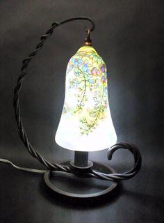玻璃胎七宝ランプ「藤」2.JPG
